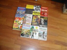 Cycling and running books