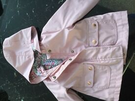 Baby girl jacket in pink