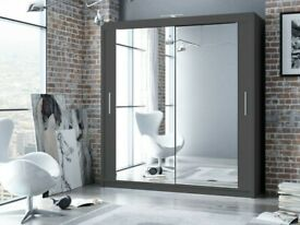 🎆💖🎆Immediate Dispatch🎆💖🎆 BERLIN 2 SLIDING DOORS WARDROBE IN 5 SIZES & IN MULTI COLORS