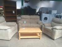 Stunning 2 seater and 2 arm chairs