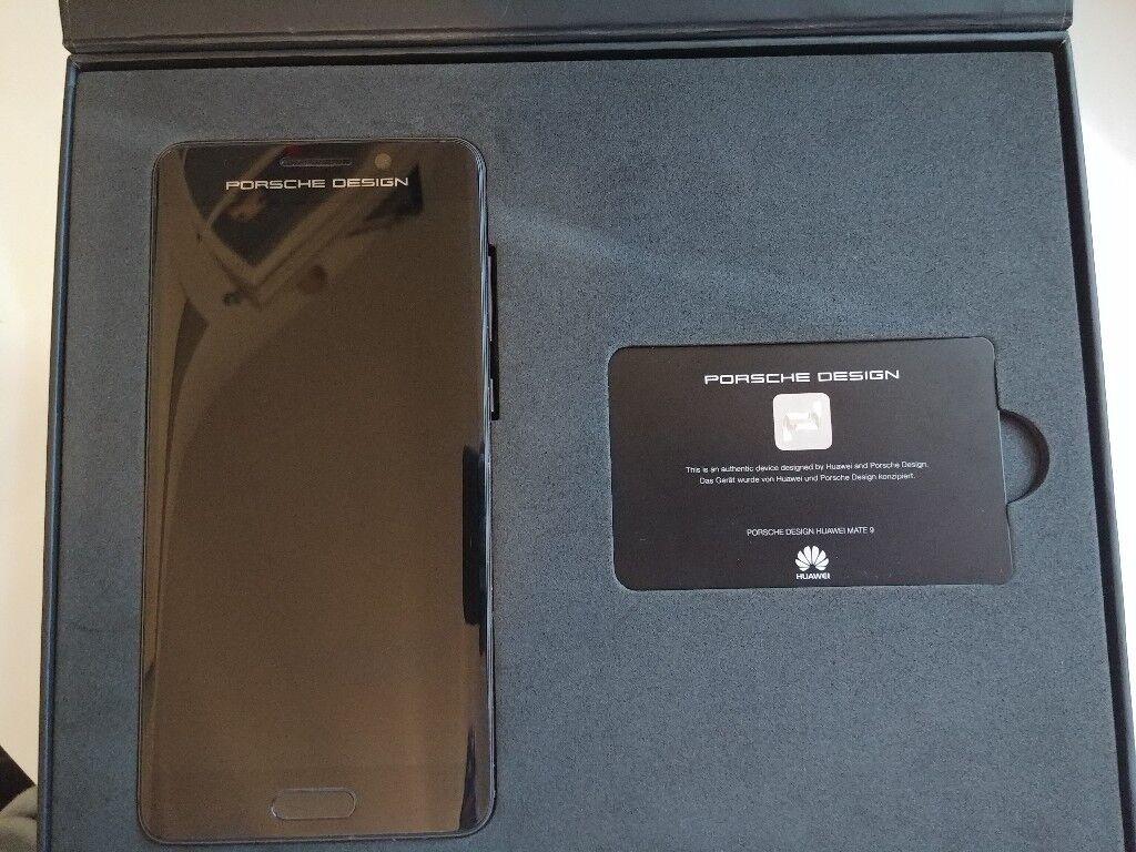 Huawei Mate 9 - Porche Design (brand new: very very rare)