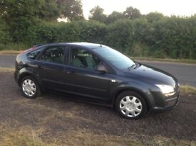 2006 Manual, petrol Ford Focus LX with tow bar and service history