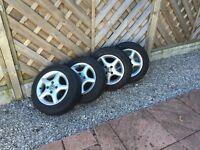 VW POLO 6N Wheels Hankook winter Tyres X4