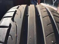 Dunlop 225/40/18 tyre