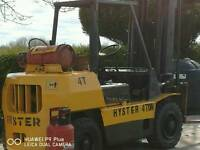 Hyster 4 ton forklift running perfect