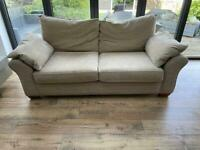 3 seater sofa and 1 x armchair