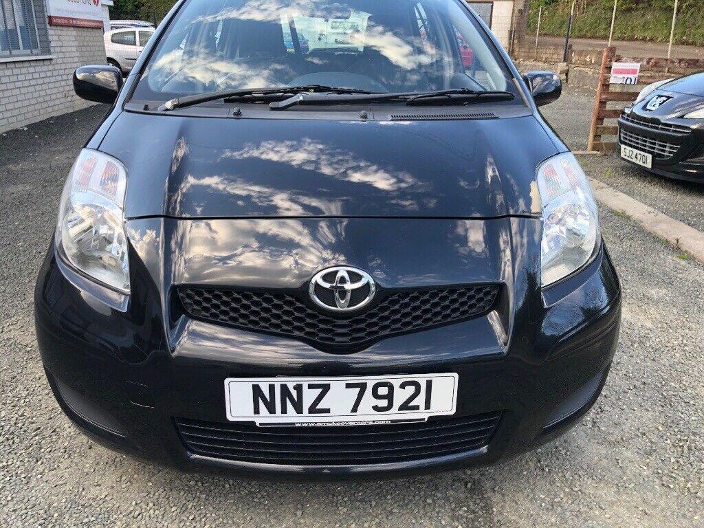 2010 Toyota Yaris 1.3 Petrol mot.01.22 price £ 3290 may take px/exch