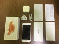 iPhone 6s Plus 128GB Rose Gold - Used but excellent condition - Unlocked - Brand new accessories