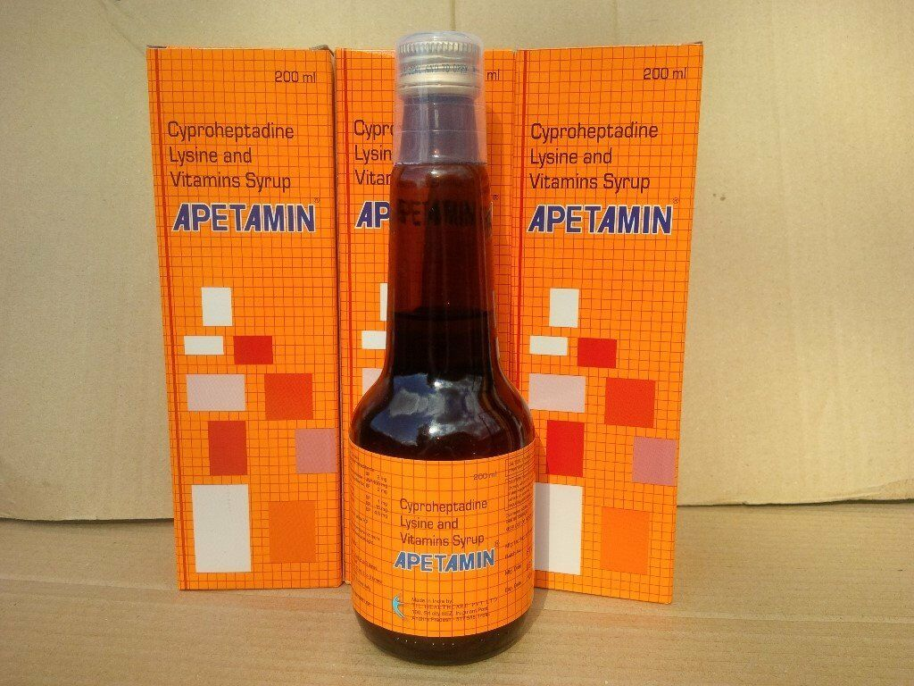 APETAMIN Vitamins Syrup For Weight Gain - 3