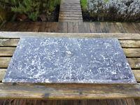 Marble slab grey