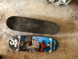 2 x skateboards