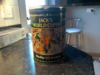 Jack Charlton collectable world cup tinrare