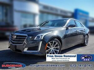 2016 Cadillac CTS Sedan AWD 3.6L Luxury  - Certified - $278.55 B