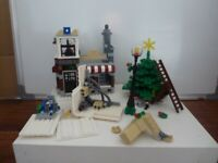 Lego Winter Toyshop and Christmas Tree