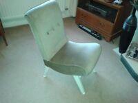 1960's retro chair. Unusual design