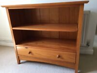 Solid wood bookshelf - excellent condition, only £30
