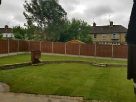 GARDENING SERVICES..GRASS CUTTING..FENCES...PAVING..SLABS