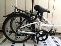 Carrera fold up bike £170