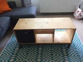 Tv unit, storage unit, coffee table ikea