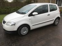 VW Urban Fox, 1.2L, 2011, 3 door petrol hatchback. 44,800 miles. One owner from new.