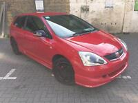Honda Civic 1.6 Milano Red, 2 Keys, 2 Owners, HPI Clear, FSH, Warranted Mileage.