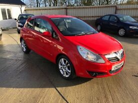 2007 VAUXHALL CORSA 1.2 SXI PETROL MANUAL RED 3DR **LOVELY CAR**