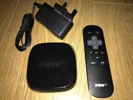 BLACK NOW TV STREAMING BOX