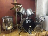 Full Drum Kit - suit beginner or Intermediate, good condition (can deliver if within 30-40 miles)