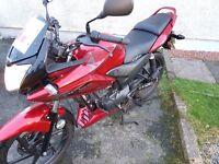 Honda CBF 125 CC Motorbike