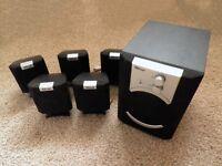 TRUST SP-6210 SURROUND SOUND 5.1 DOLBY PC SPEAKER SET