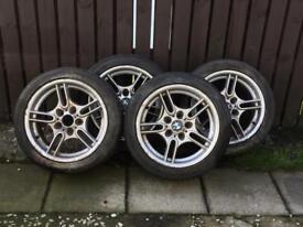 BMW E36 / E39 style 66 alloy wheels x 4