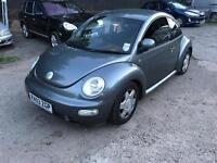 VW BEETLE 03 PLATE 1.8T AUTOMATIC 72K MILES GOOD CONDITION £500