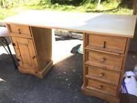 Drawer desk