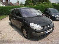 2006 RENAULT GRAND SCENIC DYNAMIQUE DCI 1.9 DIESEL BLACK 7 SEATER MPV