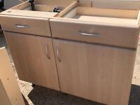 4 X Large kitchen Units