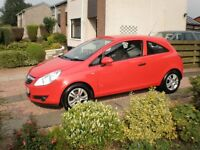 CORSA 1.2 BREEZE 3 DOOR. RED. IMMACULATE. ALLOYS. REMOTE CENTRAL LOCKING. ELECTRIC WINDOWS. AC.