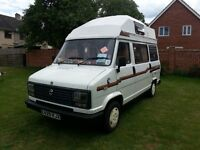 Renault Talbot 4 Berth Campervan for Sale with Awning