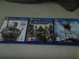Selling the witcher wild hunt assasin creed syndicate and star wars battlefront