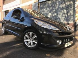 Peugeot 207 2007 1.6 16v Sport 3 door AUTOMATIC, 2 OWNERS, LONG MOT, LOW MILES, BARGAIN