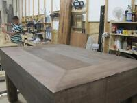 SOLID WOOD, RUSTIC COFFEE TABLE, CUSTOM MADE TO YOUR SIZE