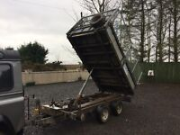 IFOR WILLIAMS 10x6 TIPPING TRAILER