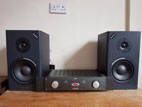 Alesis amplifier and speakers