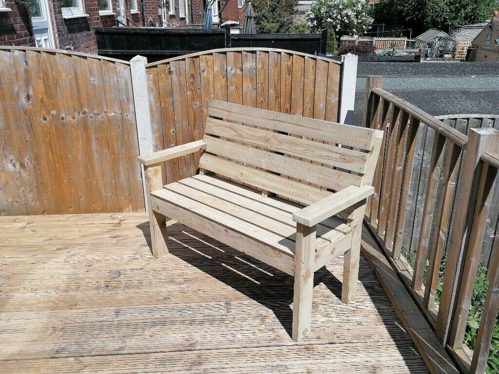 Handmade wooden garden benches. | in Pontefract, West ...