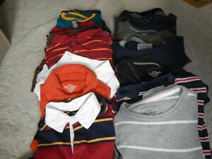 Bag of Boys Long Sleeve Shirts/Sweaters Size L- XL Peterborough Peterborough Area image 1