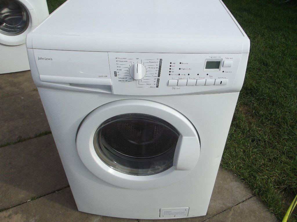 JOHN LEWIS 7KG WASHER DRYER IN GOOD WORKING ORDER WITH 3 MONTH WARRANTY OFFER PRICE ENDS 12/10/17