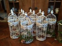 Vintage cages wedding