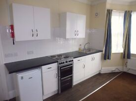 Newly refurbished self contained bedsit