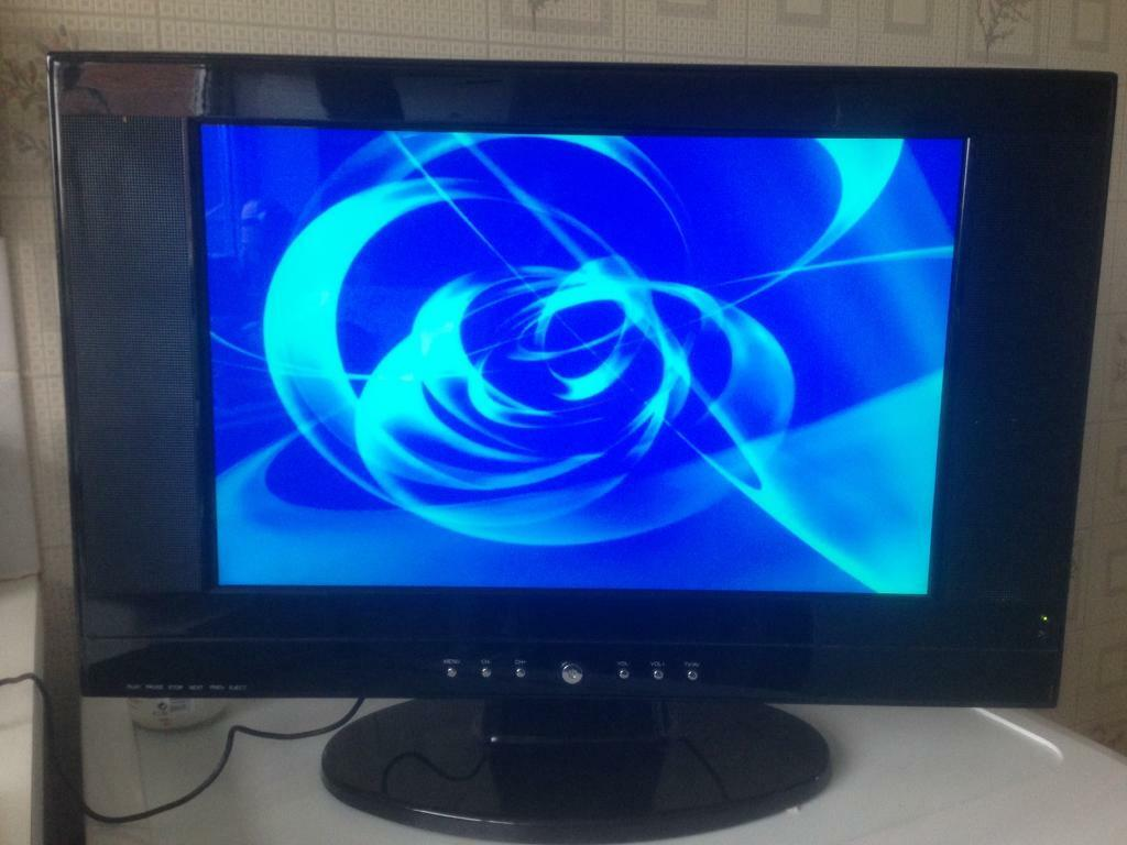 "19"" tv and dvd player"