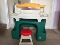 Kids activity desk