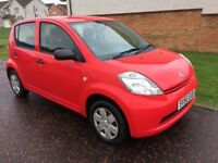 BARGAIN 56 reg Daihatsu sirion 1.0l ideal first car cheap to insure px welcome